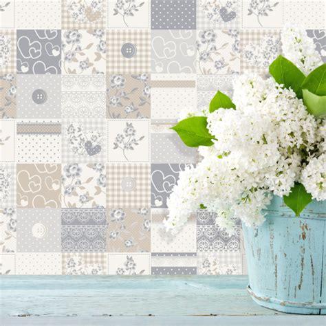 grey wallpaper shabby chic cream and grey wallpaper wallpapersafari