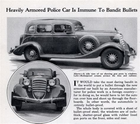 early us armor armored cars 1915â 40 new vanguard books heavily armored car is immune to bandit bullets