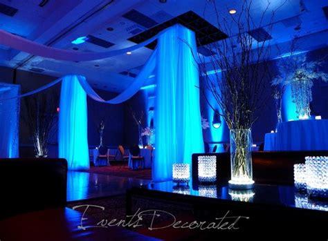 Floor And Decor Atlanta Georgia by Modern Black Blue Silver White Centerpieces Dance Floor