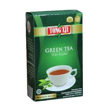 Teh Tong Tji Di Indo jual tong tji green tea 100 g 3 pcs harga