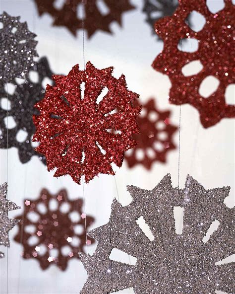 martha stewart crafts ornaments 16 snowflake ornaments to help guarantee a white