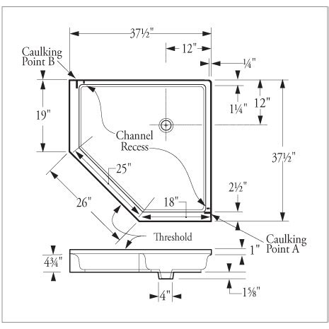 what is the size of a standard shower curtain corner shower pan dimensions quotes
