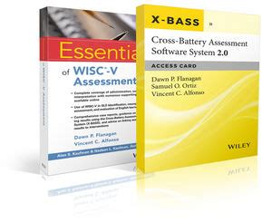 cross battery assessment software system x bass books wiley essentials of wisc v assessment with cross battery