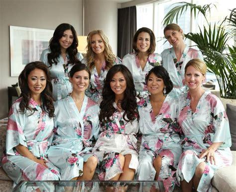 CD1 Bridesmaid Robes,best Bridesmaid Gifts Kimono Robe