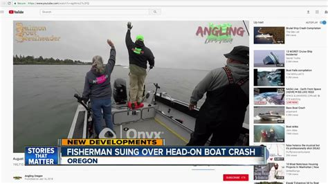 boat crash in oregon viral video shows boat crash in oregon youtube