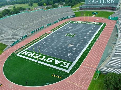 america s best colleges 543 eastern michigan university emu s gray football field
