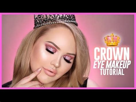 youtube tutorial nikki trying the viral crown eye makeup look youtube