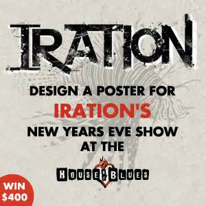 design poster brief design a poster for iration s nye show at house of blues