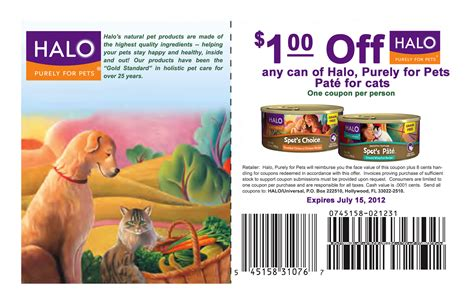 Halo Cat Food Printable Coupons | halo cat food coupons and reviews cat food coupons