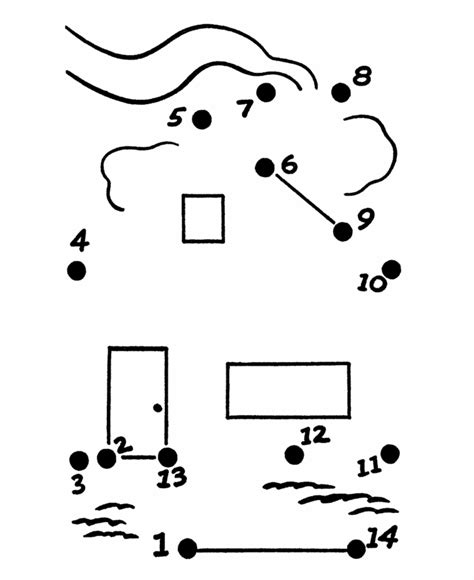 printable dot to dot house learning years simple dot to dot house