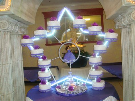 quinceanera themes shining under the stars quinceanera cake with a star base cakecentral com