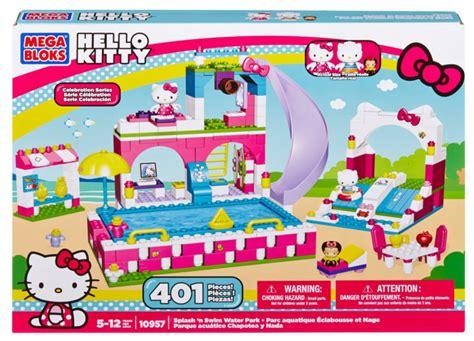 Amazon: Mega Bloks Hello Kitty Splash N? Swim Water Park