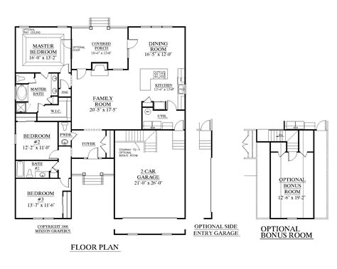 residential home floor plans more information garage plan residential house plans 58658