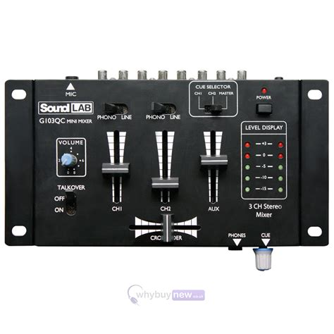 Mixer Audio Mini soundlab mini mixer
