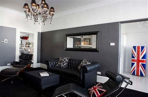 midcentury modern decor adds to the opulence of the