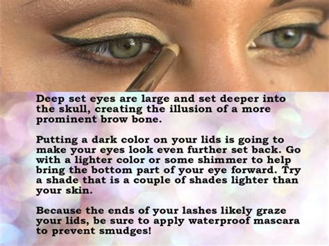 should you shape up your twa how should you apply make up according to your eye shape