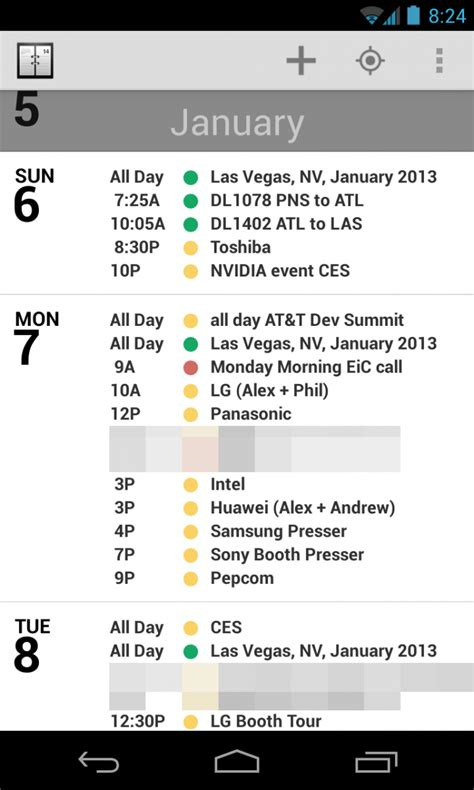 who makes android agenda for android the ios calendar favorite makes the leap android central