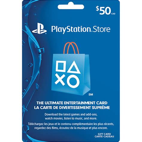 Gift Card For Ps4 - playstation network 50 prepaid card in store only playstation network cards