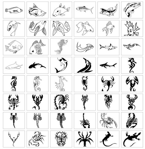 tattoo animal symbolism animal symbols and meanings