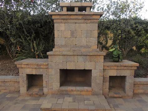 Outdoor fireplace san diego backyard gas fireplaces san diego pavers san diego