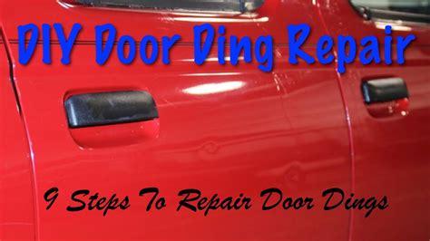 Door Ding Repair by Diy Door Ding Repair 9 Steps How To Repair Dings
