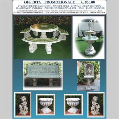 offerte arredo giardino offerta speciale arredo giardino miccich 232 architetture
