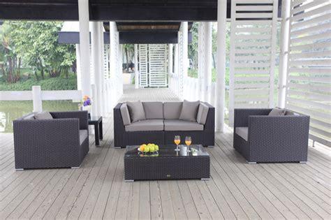 Gartenmöbel Set Rund 193 by Rattan Lounge Rattan Gartenm 246 Bel Kissenbox Im