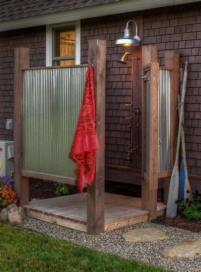 the outdoor shower create an outdoor shower for daley decor with debbe