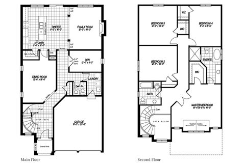 Augusta Floor Plan | augusta desozio homes