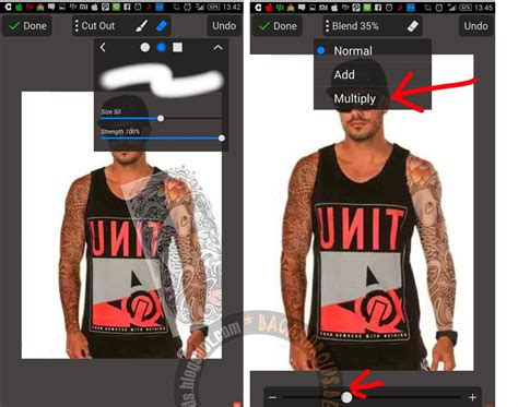 tutorial edit foto instagram android tutorial edit foto membuat efek tatto dengan