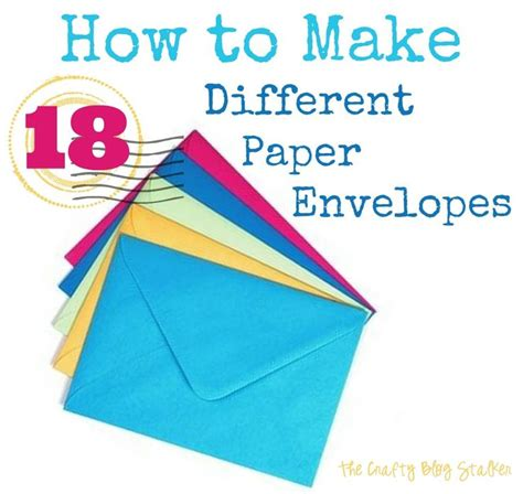 How To Make Paper Envelope At Home - 17 best images about crafts ideas and inspirations on