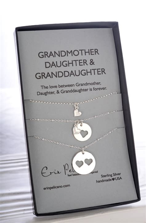 for my grandchild a grandparent s gift of memory books grandmother granddaughter necklace set