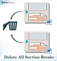 3 ways to quickly delete all section breaks in your word