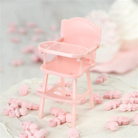 Pink Baby Shower Favors by Pink Baby High Chair Shower Favors It S A Theme