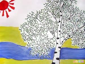 детские картинки рисунки о весне