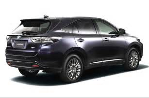 all new suv cars in india new toyota harrier suv photo gallery autocar india