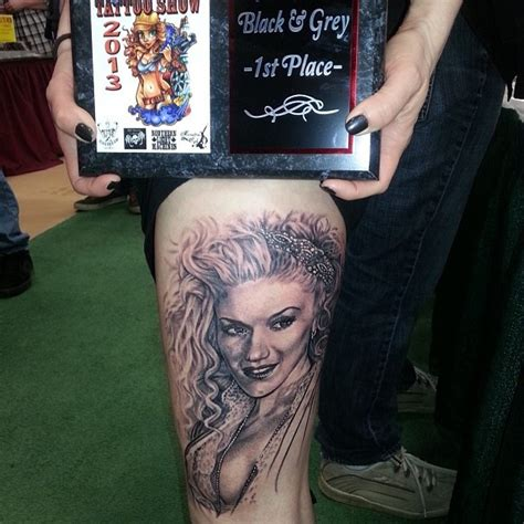 gwen stefani tattoo 40 best no doubt tattoos images on fan