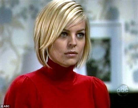 makeup on general hospital kirsten storms reveals she s taking a break from general