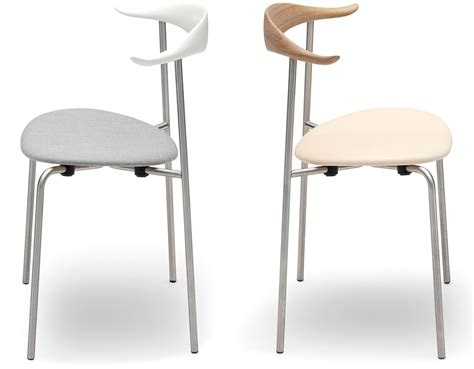Ch88 Chair by Hans Wegner Ch88 Stacking Chair With Upholstered Seat