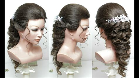 easy bridal hairstyles youtube beautiful hairstyles for function easy wedding hairstyle