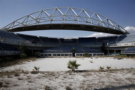 olympics venues abandoned athens olympics venues 10 years later business