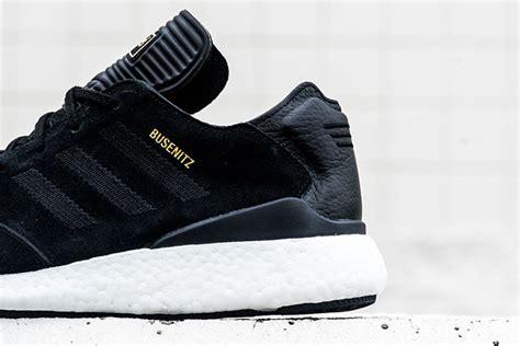 Kaos Adidas Sb Black adidas skateboarding busenitz boost black white sneakerfiles