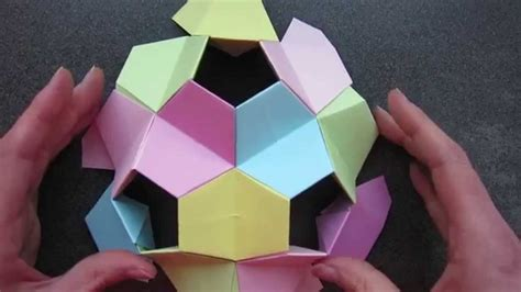 Origami Turtle Tutorial - origami kusudama turtle tutorial