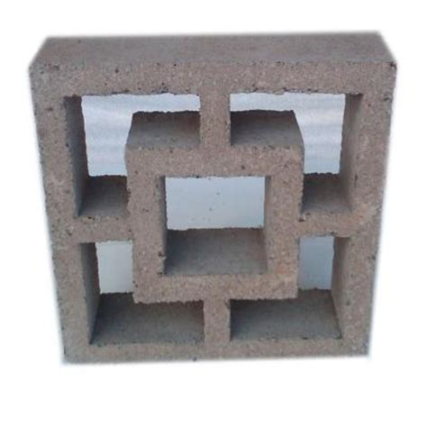397 12 in x 4 in x 12 in concrete decorative block dec