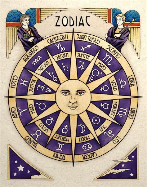 Zodiac Table by Best 25 Zodiac Wheel Ideas On Astrology