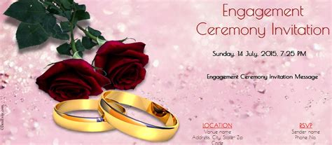 engagement invitation card templates free in marathi free engagement invitation cards