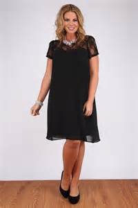 buy yoursclothing womens plus size swing dress with lace
