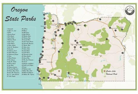 state parks in map oregon state parks map etsy regarding oregon state parks
