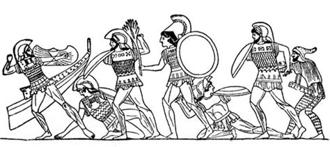 coloring page of trojan trojan war coloring pages
