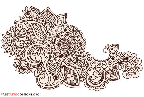Henna Design Vorlagen Henna Tattoos Mehndi Designs